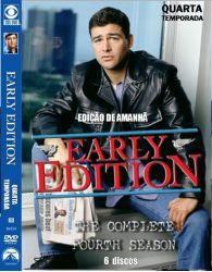 DVD EDIÇAO DE AMANHA - EARLY EDITION - 4 TEMP - 6 DVDs