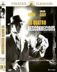 DVD OS QUATRO DESCONHECIDOS - JOHN PAYNE