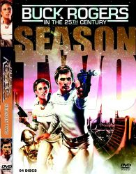 DVD BUCK ROGERS NO SECULO 25 - 2 TEMP - 4 DVDs