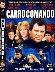 DVD CARRO COMANDO - 1 e 2 TEMP - 6 DVDs