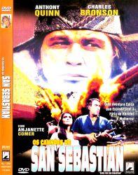 DVD OS CANHOES DE SAN SEBASTIAN - CHARLES BRONSON