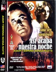 DVD ASSIM TERMINA NOSSA NOITE - GLEEN FORD - 1941