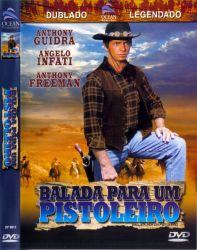 DVD BALADA PARA UM PISTOLEIRO - ANTHONY GUIDRA