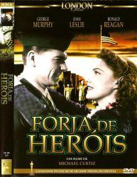 DVD FORJA DE HEROIS - RONALD REAGAN - 1943