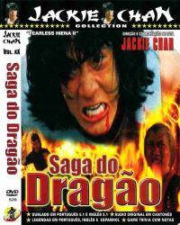 DVD SAGA DO DRAGAO - JACKIE CHAN